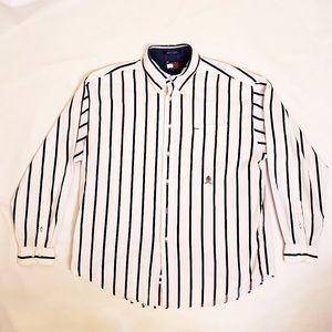 90s Tommy Hilfiger Button Down Shirt, Sz XL